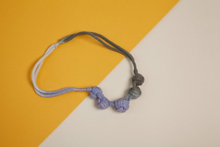 Multiple Monkey's Fist Knot Necklace