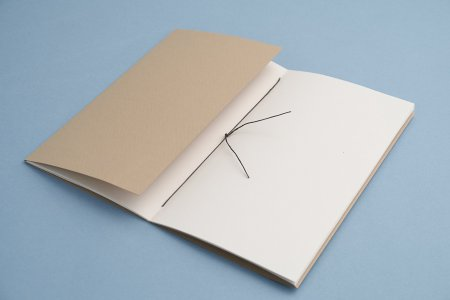 Blank-paged journal