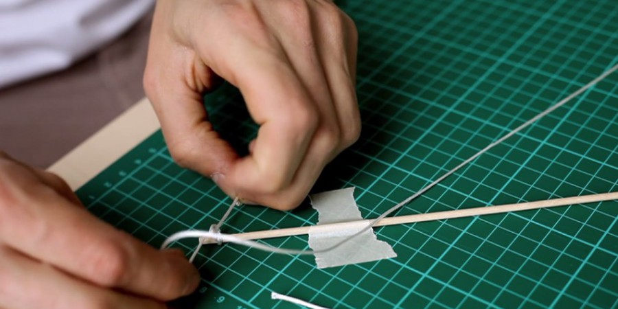 FILM: Waxed Paper Diamond Kite Kit