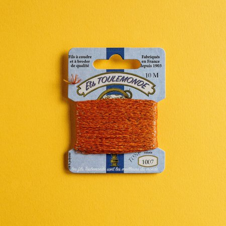 Ets Toulemonde Tonkin Thread - Orange 1007