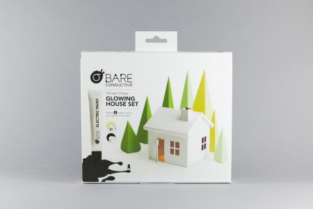 Bare Conductive Glowing House Set - Voltage Village