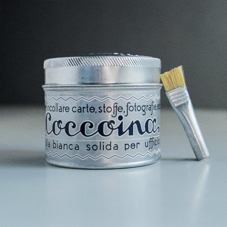 Coccoina Glue - Jar with Paste Brush