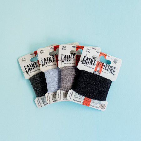 Laine Saint-Pierre Embroidery Thread - Black