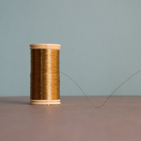 Fil au Chinois Metallic Thread - Gold