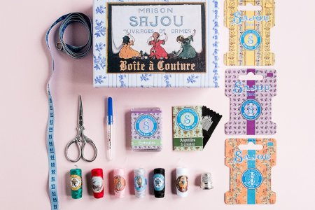 Sajou Small Sewing Box
