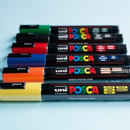 Uni Posca Paint Marker - Set of 6