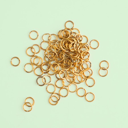 Vintage Brass Jump Rings