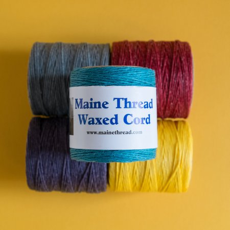 "Maine Thread Waxed Cord - 0.40"" - Turquoise"