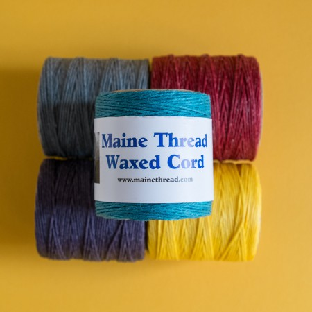 "Maine Thread Waxed Cord - 0.40"" - Lilac"
