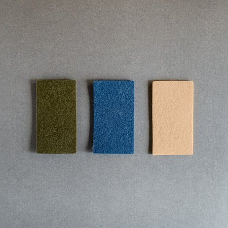 "Sutherland 100% Wool Felt - 1/8"" Thick - Fern Green"