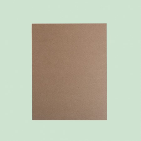 Medium Weight Chipboard (Card) - 8.5 x 11""