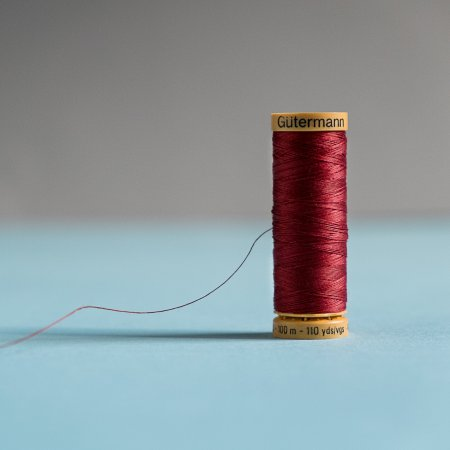 Gutermann 100% Natural Cotton Thread - Colors - Scarlet 4780