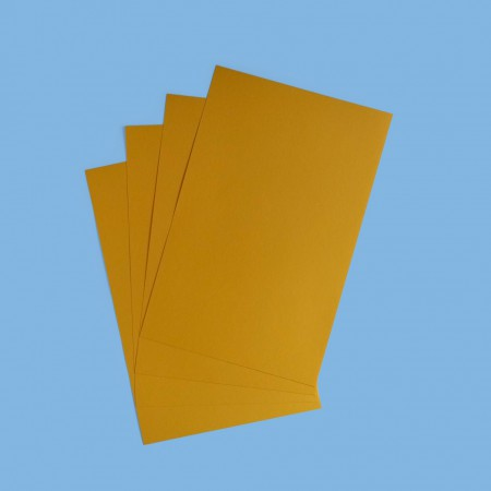 "BriteHue Card Stock - 11x17"" - Gold - Pack of 5"