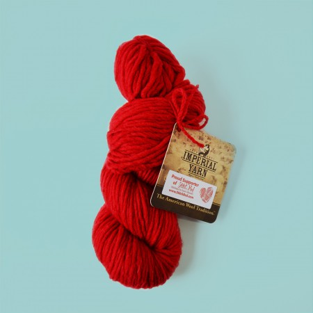 Imperial Stock Ranch Yarn - Wild Strawberry - 1/2 Skein