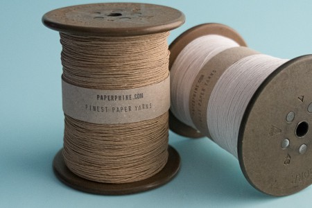 PaperPhine Medium Paper Twine on Reclaimed Silk Bobbin