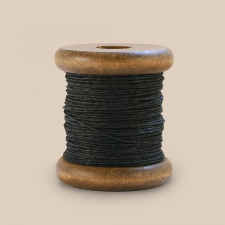 PaperPhine Strong Twine on Small Bobbin - Black