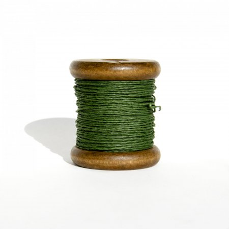 PaperPhine Strong Twine on Small Bobbin - Dark Green