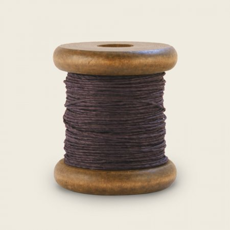 PaperPhine Strong Twine on Small Bobbin - Aubergine