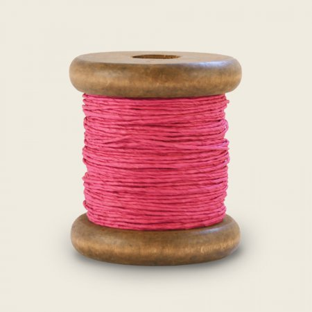 PaperPhine Strong Twine on Small Bobbin - Magenta