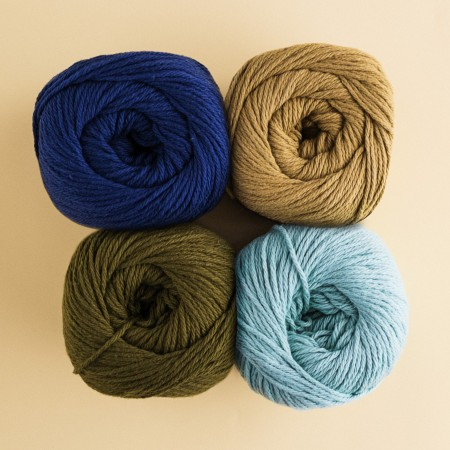Lion Brand Cotton Yarn - Evergreen 760-180
