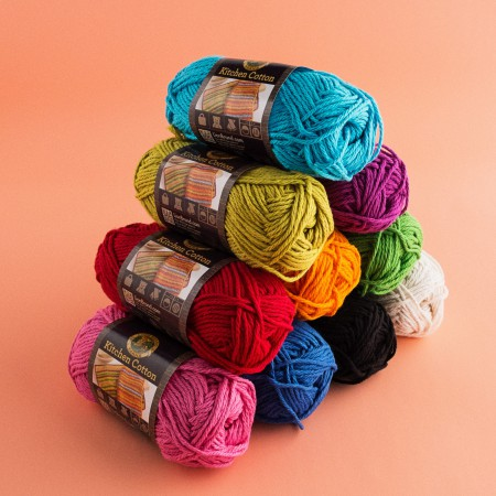 Lion Brand Kitchen Cotton Yarn - Licorice 831-153