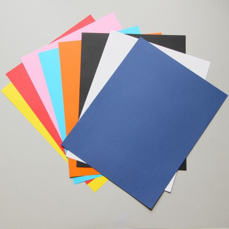 Multi-Colored Pack of 60 lb Text Paper - 8-1/2 - 11""