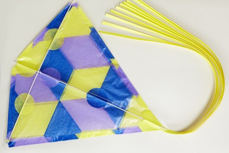 Waxed Paper Diamond Kite Kit