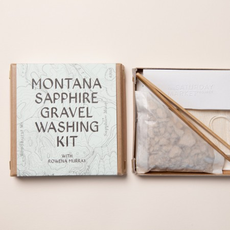 Montana Sapphire Gravel Washing Kit with Rowena Murray