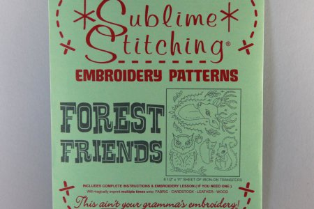 Sublime Stitching Embroidery Pattern