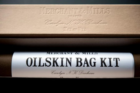 Merchant & Mills Oilskin Bag Kit