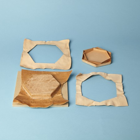 Make Hexagonal Molded Leather Trays With Katherine Pogson