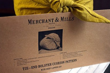 Merchant & Mills Bolster Pillow (Cushion) Pattern