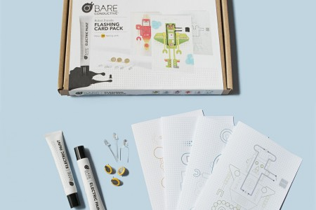 Bare Conductive Flashing Card Activity Pack