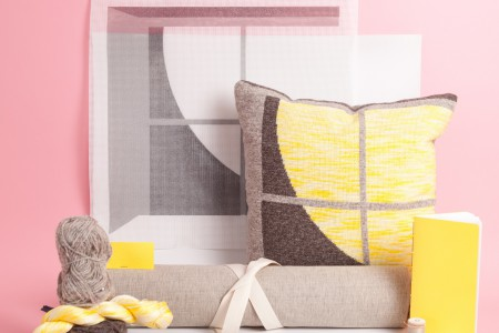 Yonder: A Needlepoint Tapestry Pillow Kit with Bethan Lloyd Worthington