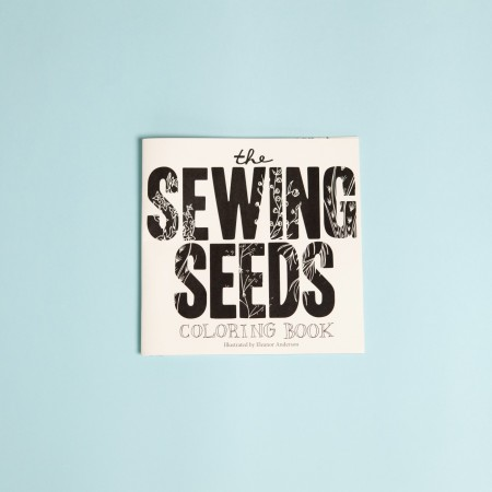 The Sewing Seeds Coloring Book