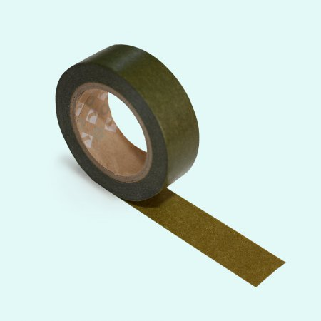 mt Washi Tape - Single Roll - Olive