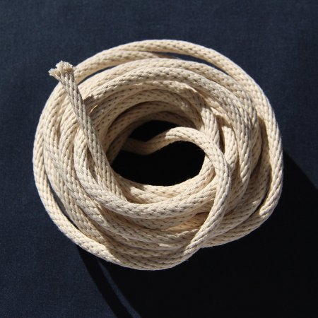"Braided Cotton Rope - 1/4"" - 10 feet"