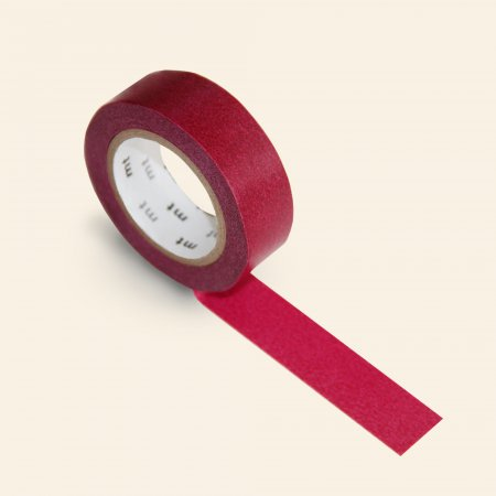 mt Washi Tape - Single Roll - Wine