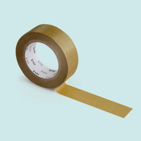 mt Washi Tape - Single Roll - Gold