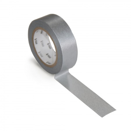 mt Washi Tape - Single Roll - Silver