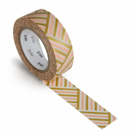 mt Washi Tape - Single Roll - Corner Peach